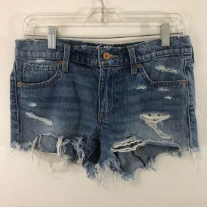 """Lucky Brand """"The cut off"""" jean shorts size 2/26"""